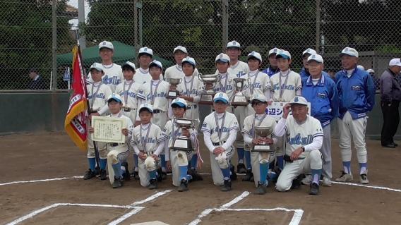 美浜区少年野球連盟 第23回秋季大会 優勝!!(Aチーム)