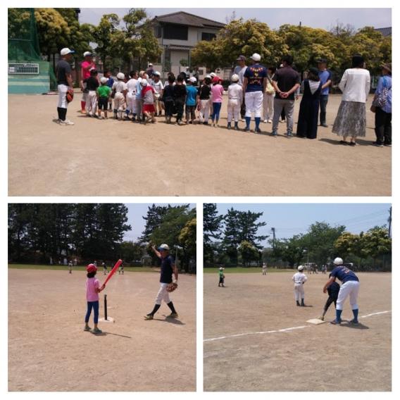 第2回野球教室 開催しました!!